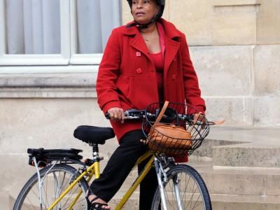Le vélo jaune de Christiane Taubira est à vendre