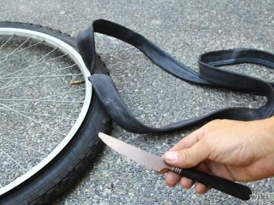 Un Vendeur Cycles en GSS parvient à changer un pneu